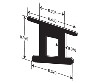 Glass Wall Rail Gasket Extrusions Extrude A Trim
